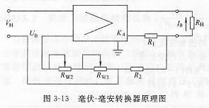 毫伏-毫安转换器原理图